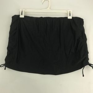 Island Escape Side Tie Swim Skirt Attached Panty